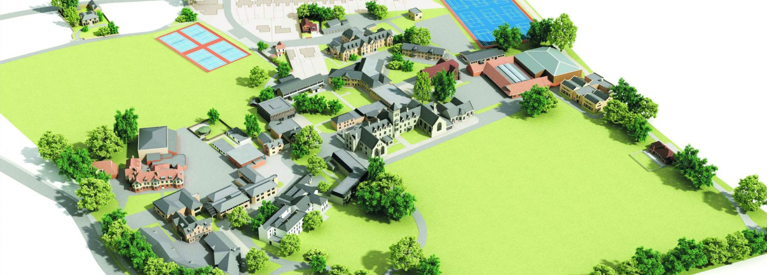 Taunton School Campus Map