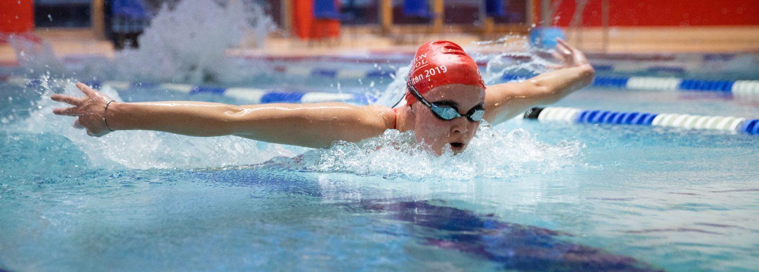 Taunton School Student Swimming