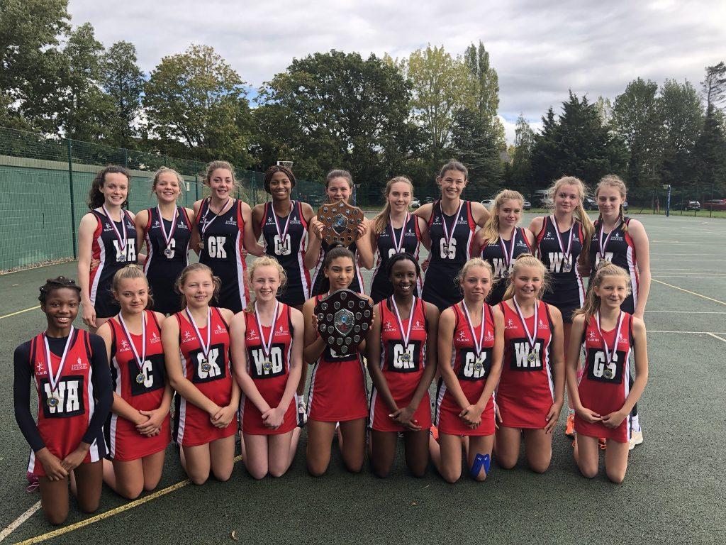 U14 and U16 Regional Netball Finalists 2019