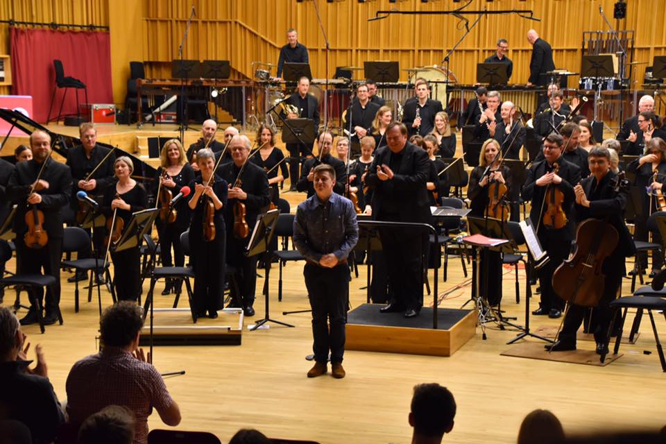 Zachary Reading BBC orchestra March 2020