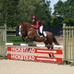 Emily Miller Competing At Hickstead