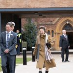Princess Ann Visiting Taunton School