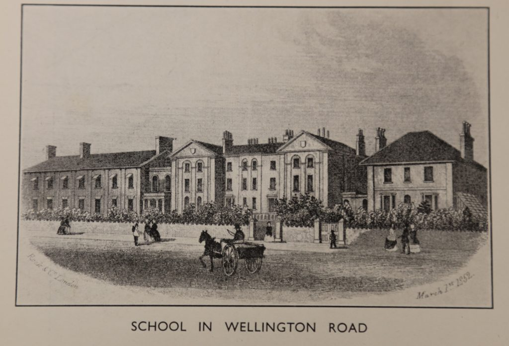 Taunton School in Wellington Road