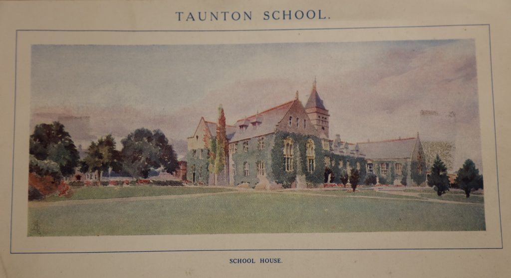 Painting of Taunton School