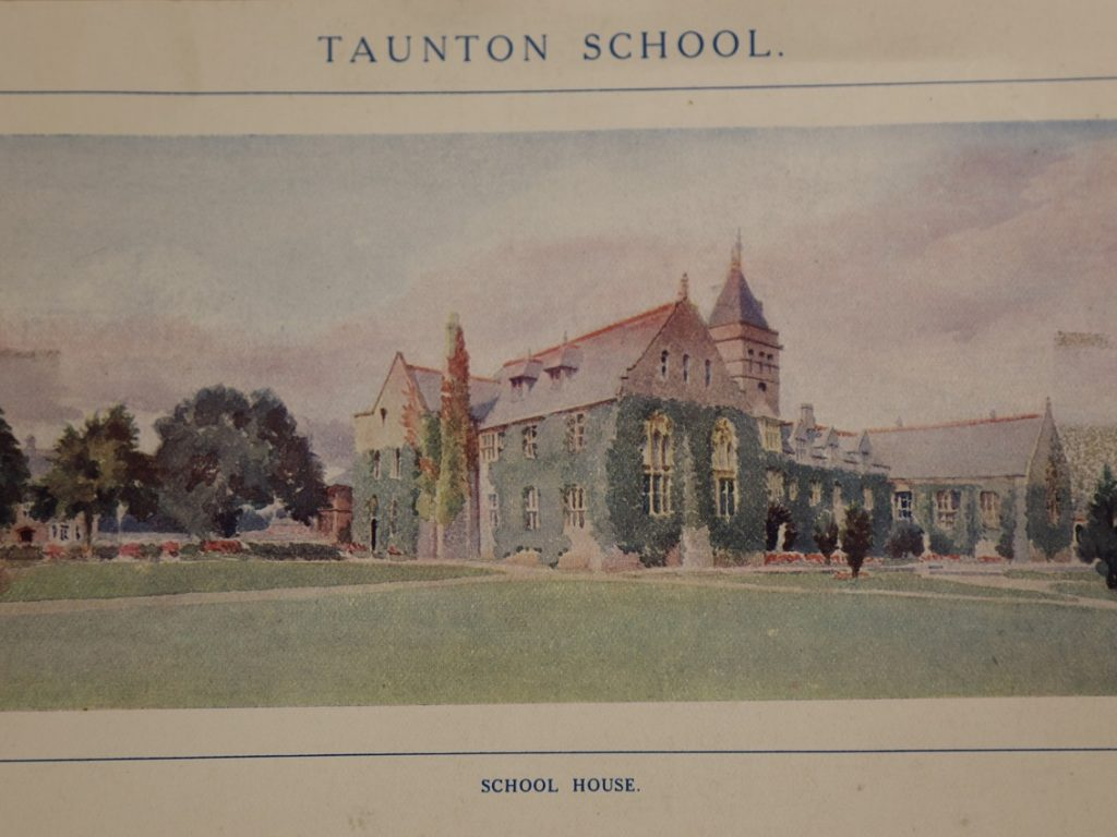 Painting Of Main Building