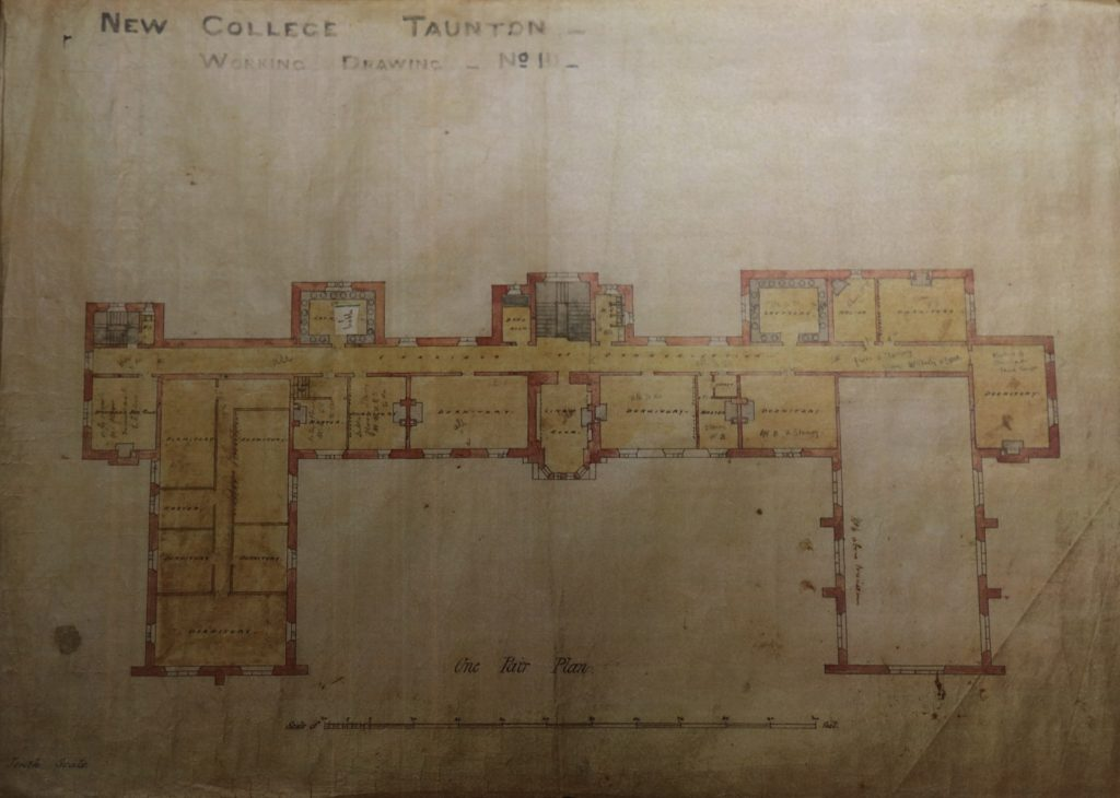 Floor Plan of Taunton School