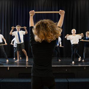 boys dance class